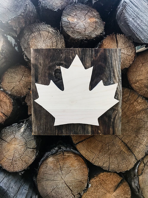 The Rustic Maple Leaf