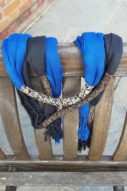 Beaded Maasai scarves