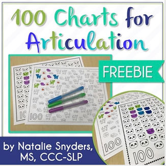 These five open-ended pages are designed to be used by SLPs to elicit 100 trials in a speech therapy session, and are perfect for articulati