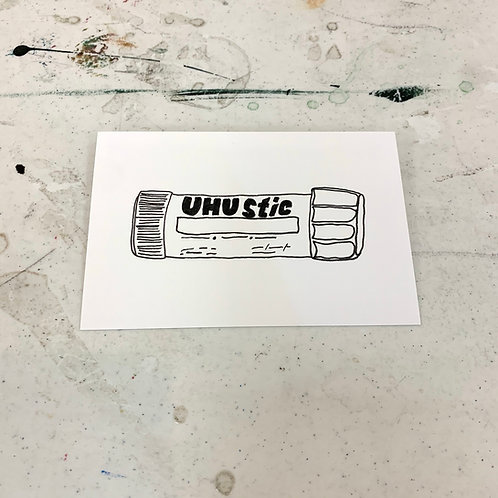 Line Drawing Postcards