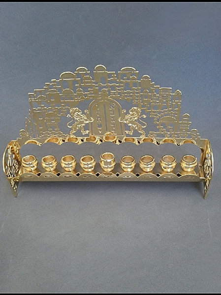 YC091 - Ten Commandments Menorah