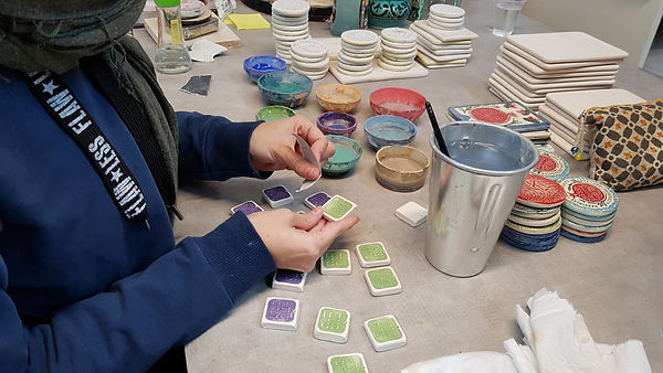 Clay Decorative Items