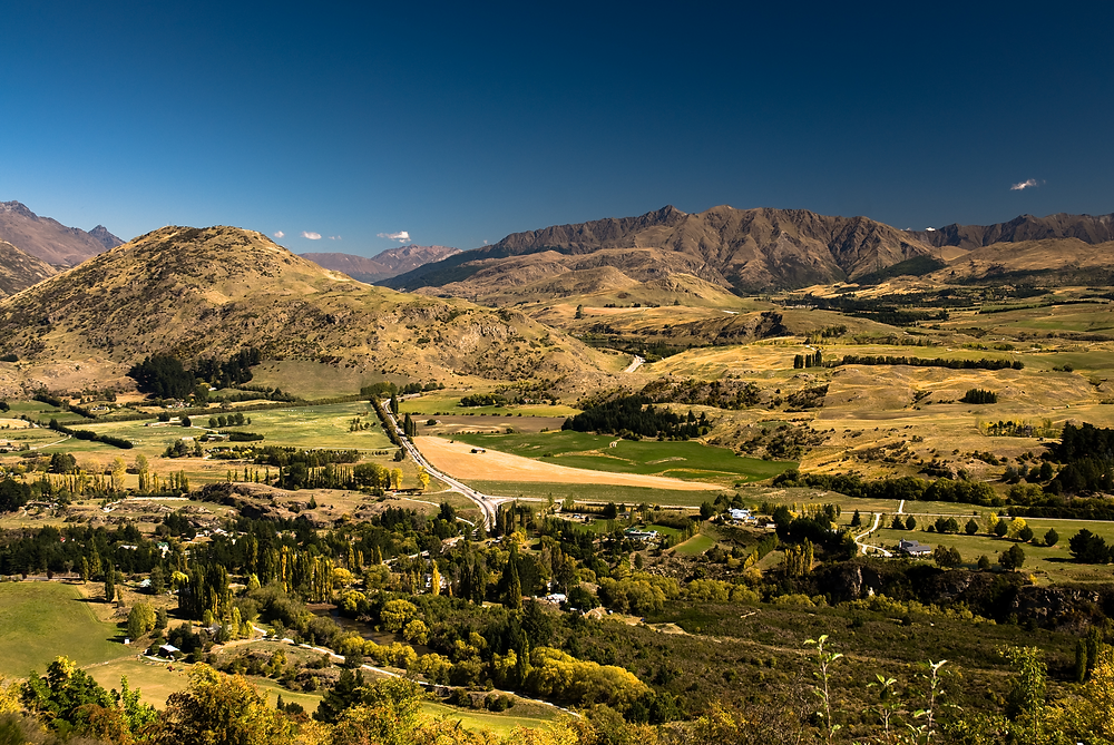 View from Tobins Track - Arrowtown - ArrowPilates