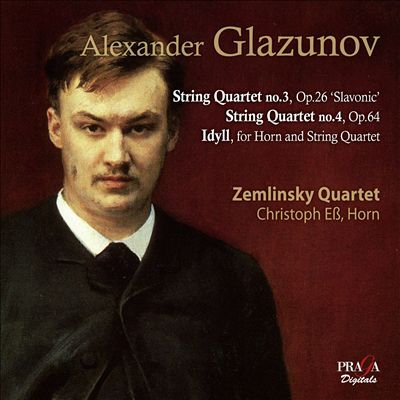 Glazunov: Idyll for horn and strings