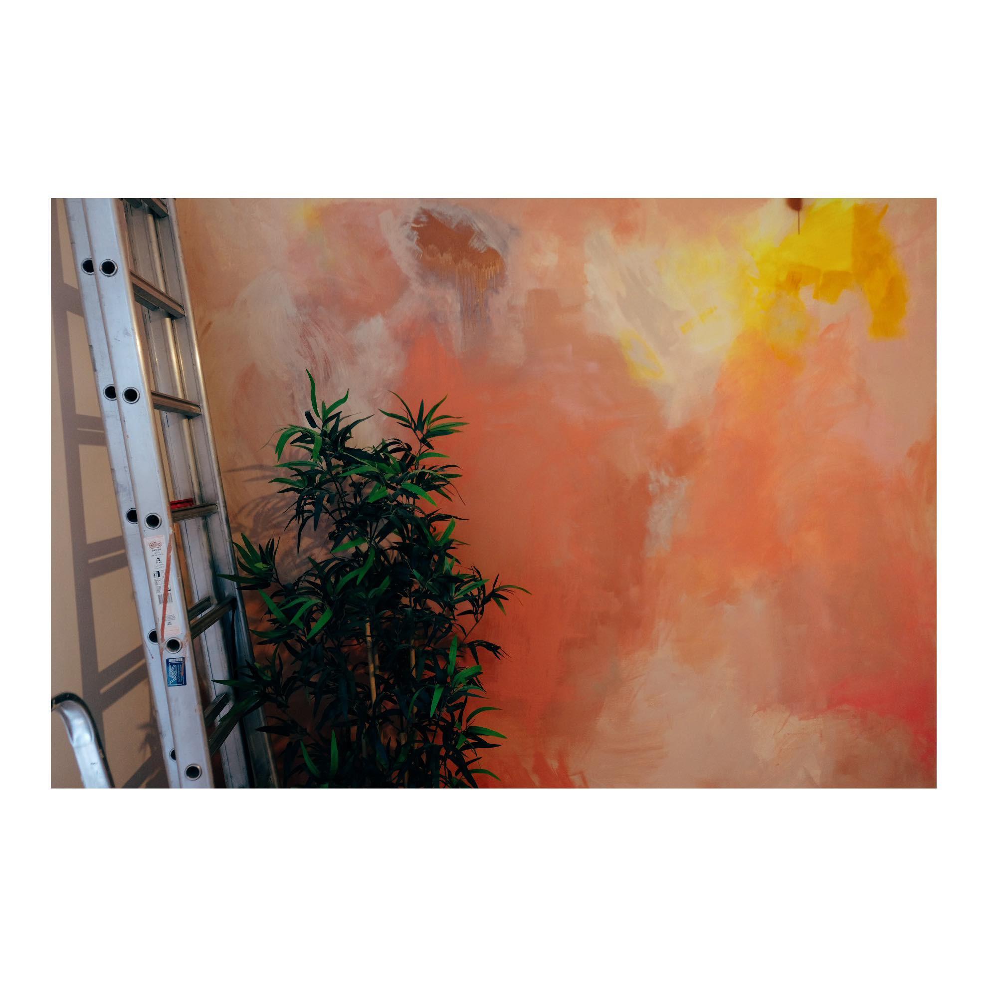 Kosmische muurschilders