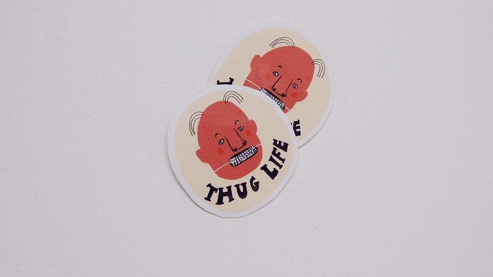 Thug life (6 stickers)