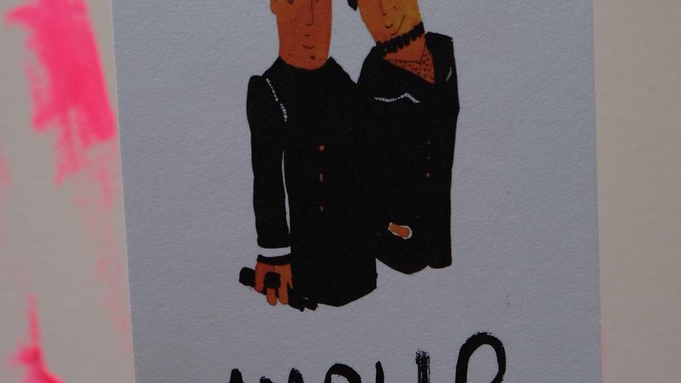 Postkaartje: Amour