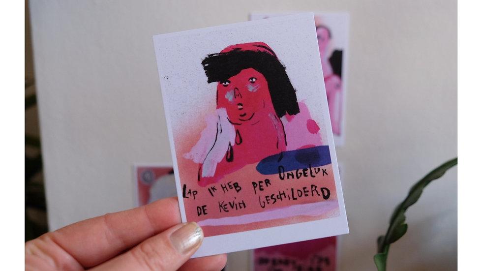 Print: DE KEVIN 83x115 mm