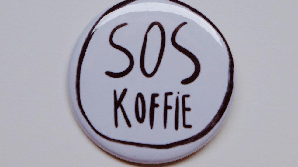 Button SOS KOFFIE