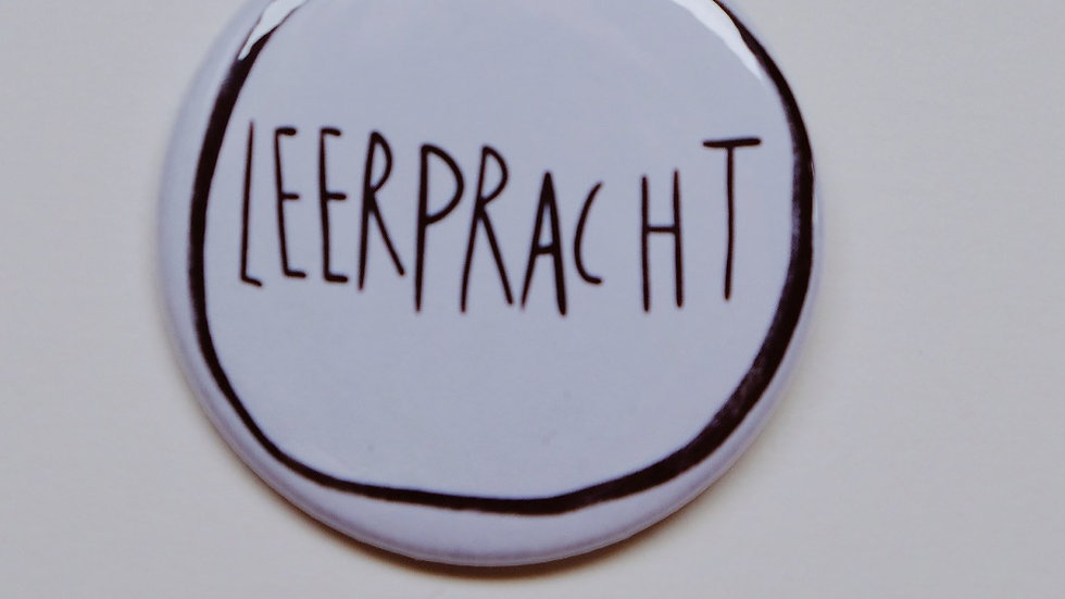 Button 'Leerpracht'