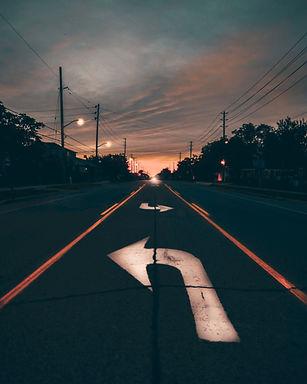 Strada di notte