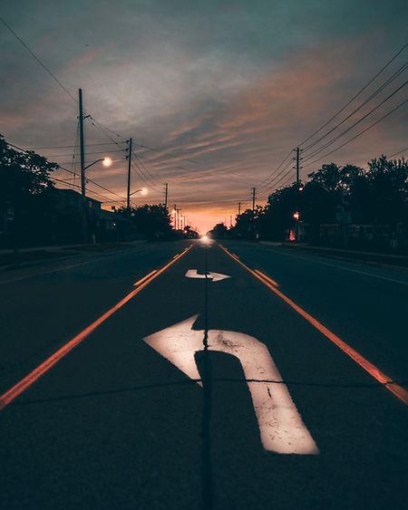 Calle en la noche