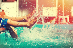Swimming pools and fireworks, capture summer with Nikon