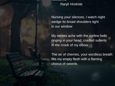 nocturne - ranjit hoskote
