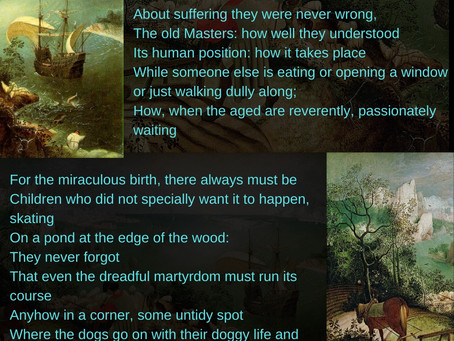 the old masters - W.H. Auden