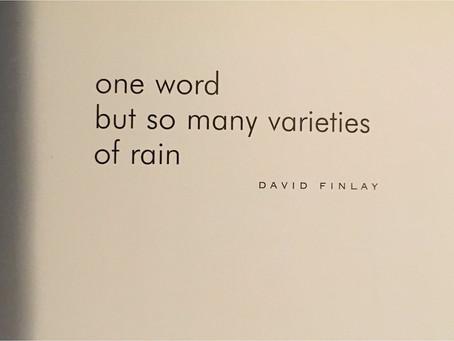 haikus - david finlay, issa & basho
