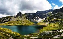 Lake Varna Bulgaria.