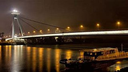UFO Bridge Bratislava Slovakia