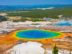 National Park Yellowstone Wyoming.