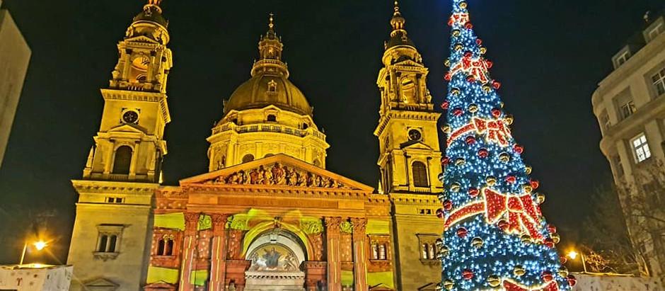 Feeling Festive in Budapest.