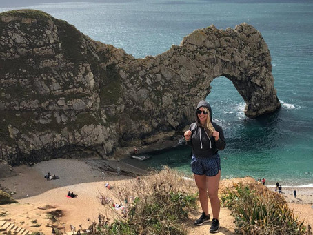 A weekend in Weymouth: Durdle Door and Lulworth Cove.
