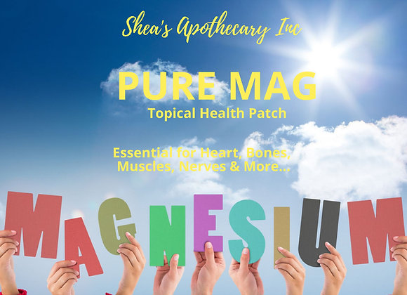 Pure Mag (magnesium) Topical Patch
