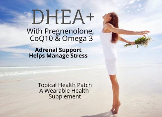 DHEA+ (with Pregnenolone, CoQ10 & Omega 3