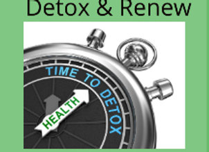 DETOX & RENEW Gluathione+Vit C
