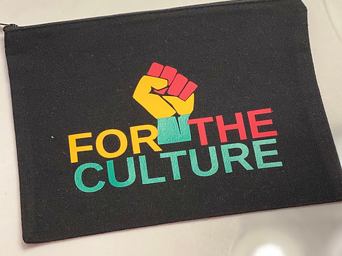 For the Culture Cosmetic Bag