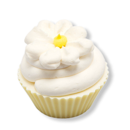 Daisy Yellow Cupcake Large