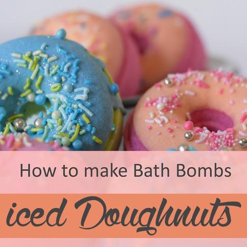How to make Iced Bath Bombs