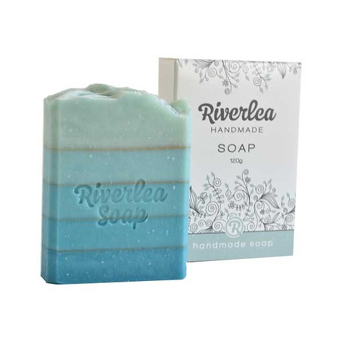 Graduated-Turquoise Alive Soap Bar