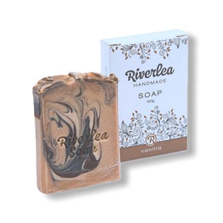 Butterfly Swirl-Vanilla Soap Bar