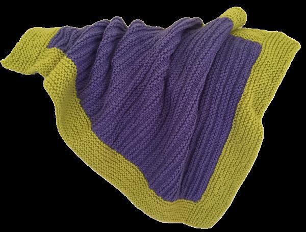baby knit blanket