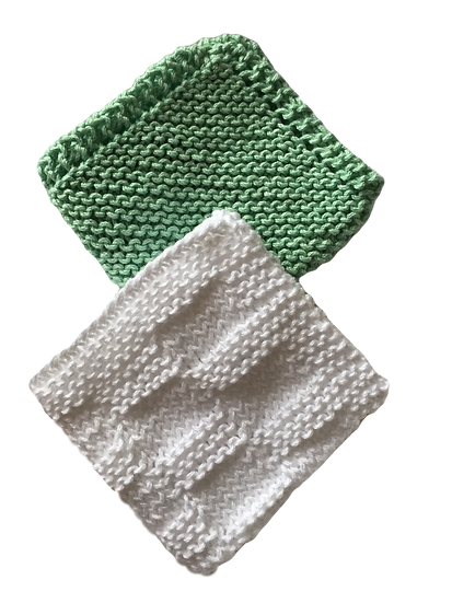 hand knit cloths