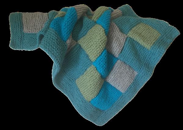 Baby Bassinet Blanket - Patchwork