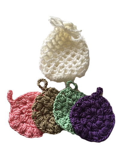 Face Scrubbies - Set of 4