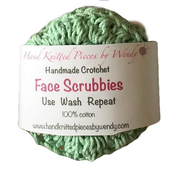 Face Scrubbies - Set of 3