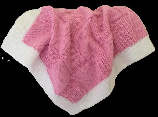 Bassinet Blanket - Pink
