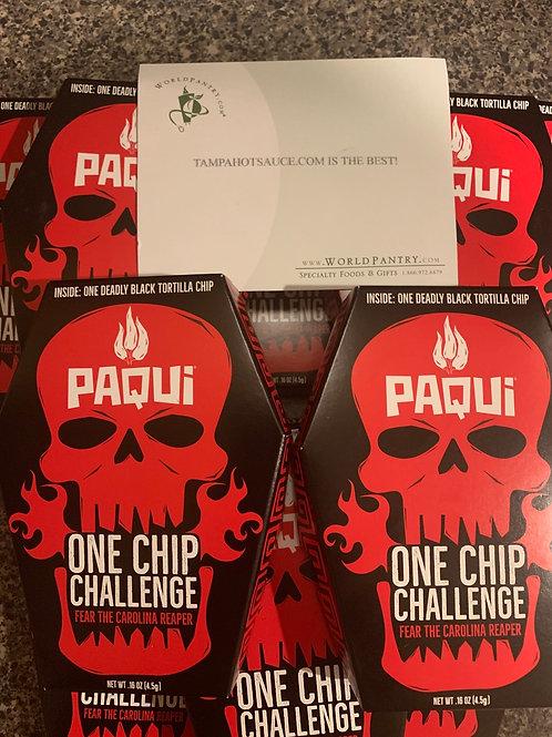 Paqui 2019 One Chip Challenge