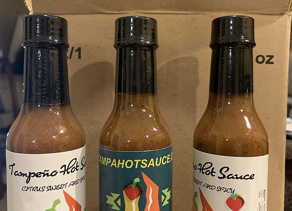 Plant city Strawberry Hot Sauce