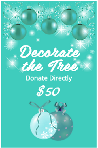 DECORATE THE TREE $50
