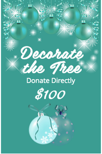 DECORATE THE TREE $100