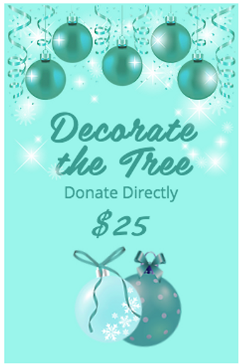 DECORATE THE TREE $25