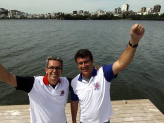 Parceria entre ex-rivais dá impulso para Lagoa ganhar CT do remo