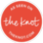 Visit us on theknot.com badge