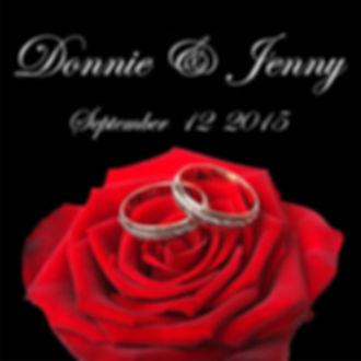 Rings on a Rose Monogram