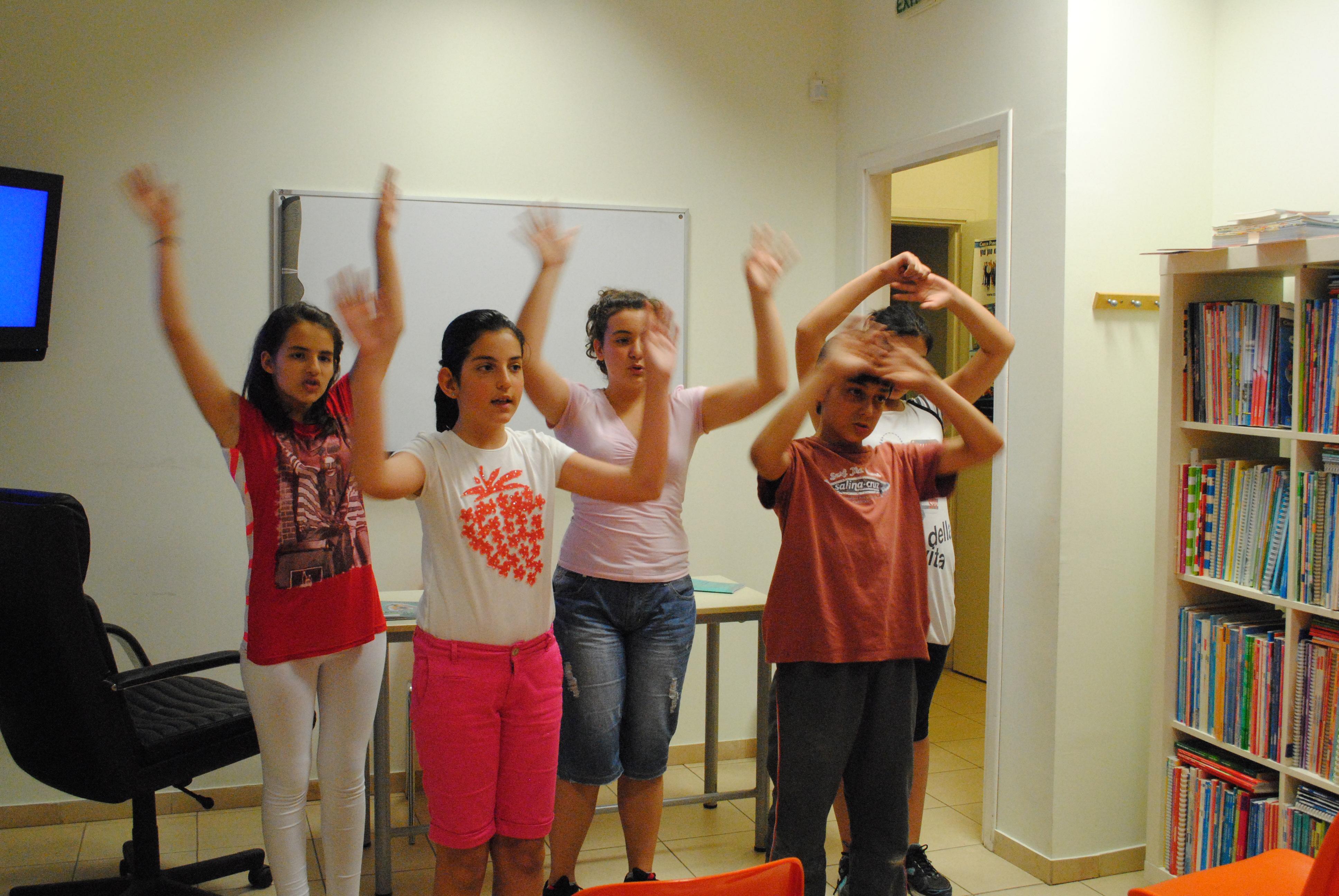 Im Deutschunterricht singen