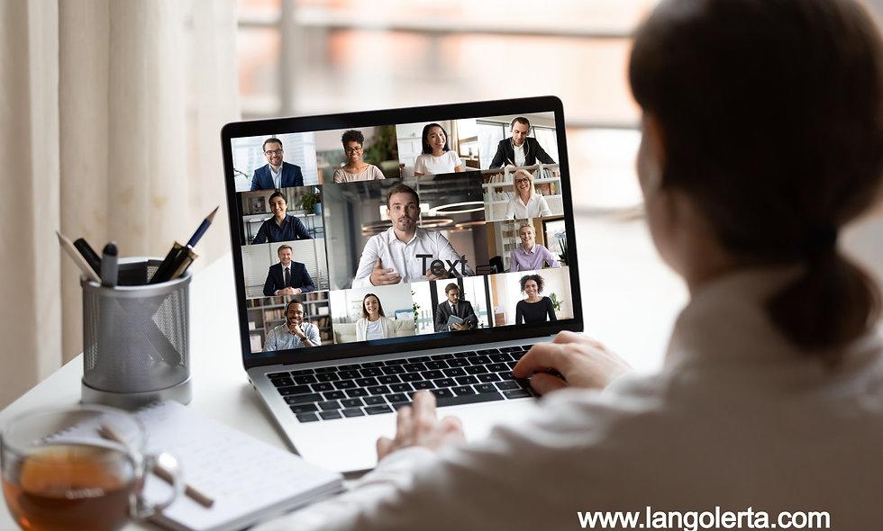 language course langolerta  live online digital-open