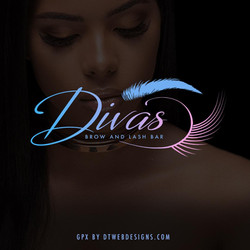 BROWS AND LASHES LOGO DESIGN